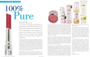 """100% Pure """"Coco Eco"""" žurnale"""