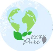 100% Pure rūpinasi gamta ir jumis